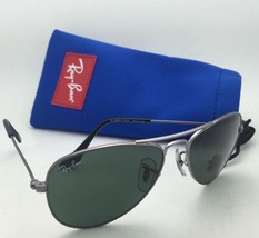 Junior Collection Kids Ray-Ban Sunglasses RJ 9506-S 200/71 Gunmetal w/Green Lens - $99.95