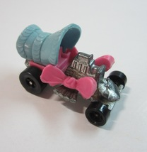Vintage 1972 Mattel Hot Wheels Zowees Pink and Blue Baby Buggy Car - $9.99