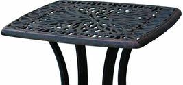 Elisabeth 5pc set patio chaise lounge chairs cast aluminum outdoor furniture image 6