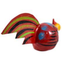 Handmade Oaxaca Copal Wood Carving Folk Art Chicken Rooster Bobble Head Figurine image 4