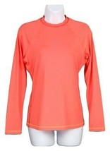 J Crew Women's Sun Shirt Long Sleeve Salmon Sz XS 38755 - $45.99