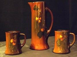 Standard Glaze Tankard and 2 Mugs AA20-2346 Vintage