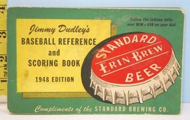 1948 RARE Cleveland Indians Jimmy Dudley's Baseball Score Book Erin Brew... - $94.05