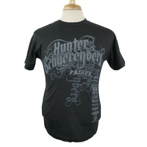 Hunter Scherenberg Racing T-Shirt Small S/S Crew Black Double Sided Dirt... - $18.99