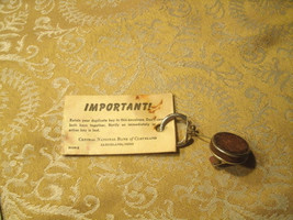 #11   Vintage bank safety deposit box key Central National Bank of Cleve... - $1.97