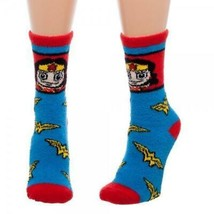 Wonder Woman Juniors Fuzzy Socks - $10.89