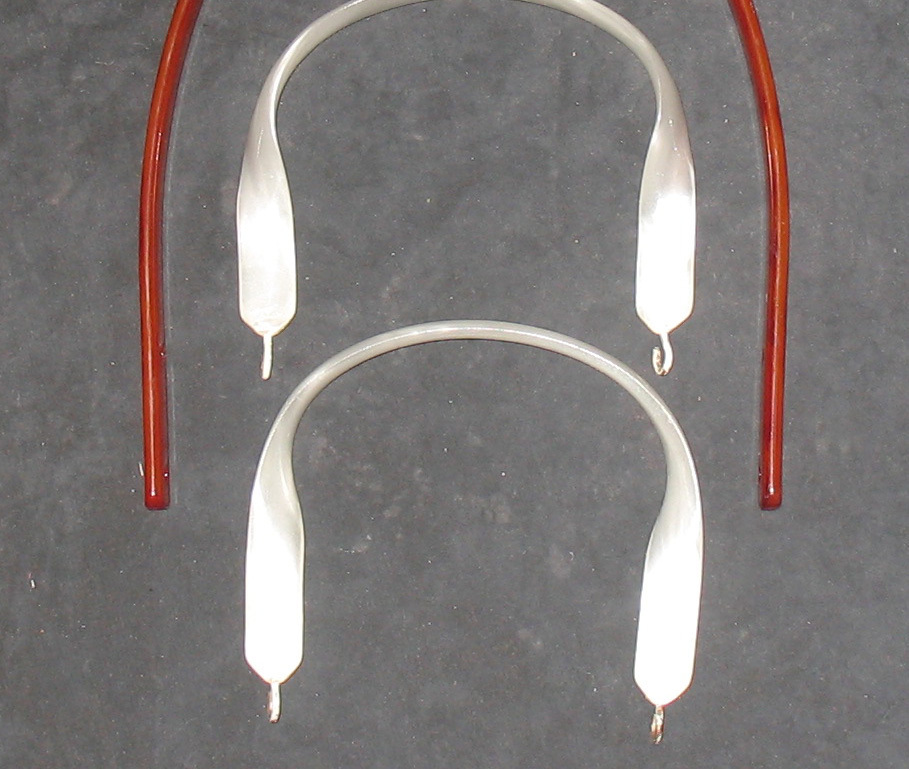 Vintage Lot of 3 Lucite Purse Handles, Circa 1950/60's.