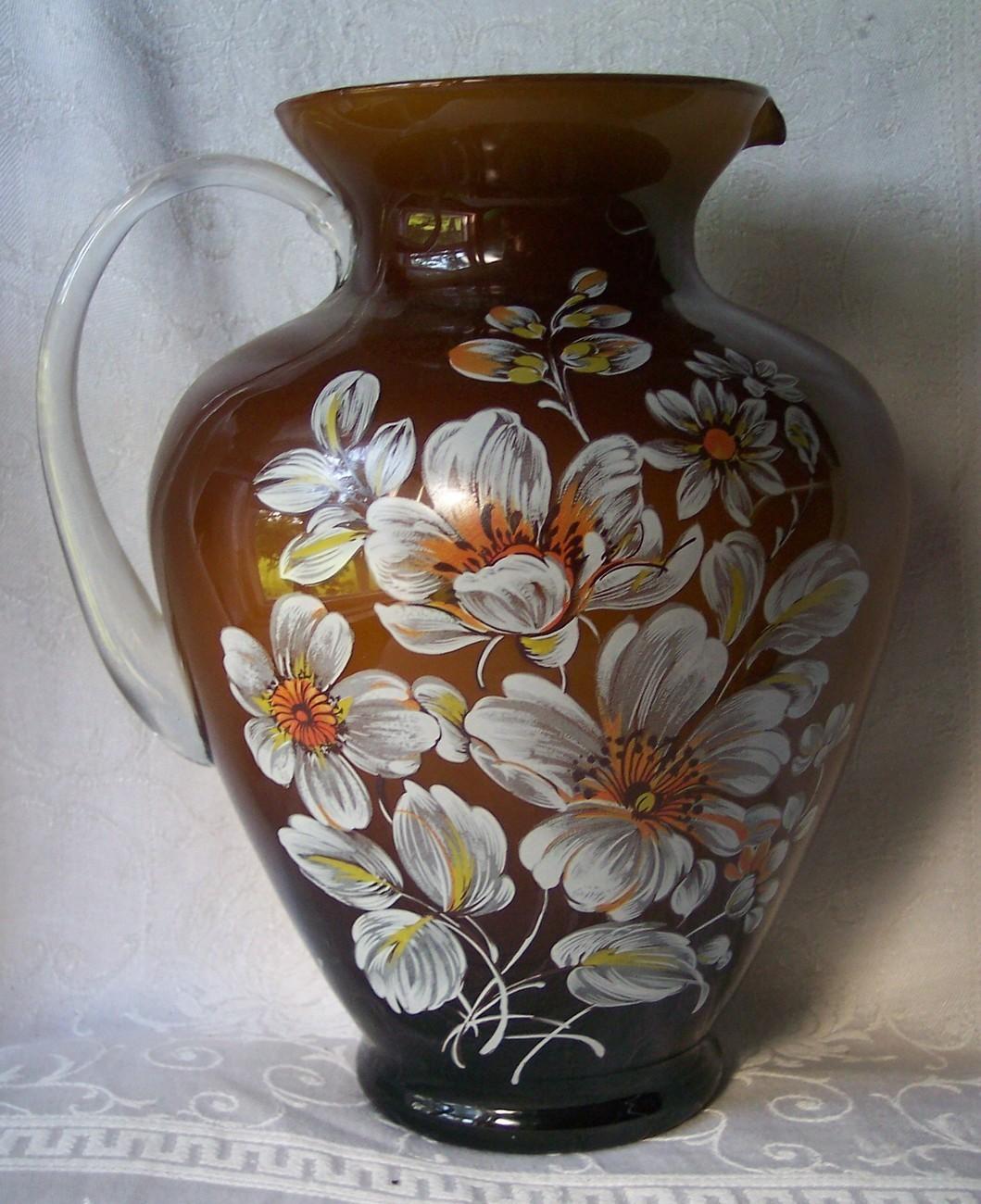 from Skyler vintage blown glass vase