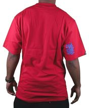 In4mation Hawaii Mens Cardinal Red or White Checkered Blues T-Shirt NWT image 6