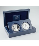 2012-S American Eagle West Point Two-Coin Silver Set w/ Box, CoA, and Case - $173.24