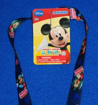**BRAND NEW** COOL WALT DISNEY MICKEY MOUSE CLUBHOUSE LANYARD WITH ORIGI... - $5.99