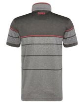 Hugo Boss Men's Paddy Pro 2 Premium Cotton Polo Shirt T-Shirt Gray 50316390 image 2