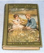 Bobbsey Twins at Cedar Camp Laura Hope Book 1921 - $7.95
