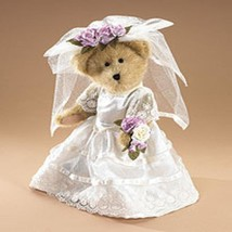 "Boyds Bears ""Mrs. Everlove"" 12"" Plush Bride- Style #912654- 2001 -NEW -Retired - $39.99"