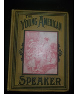 YOUNG AMERICAN SPEAKER BOOK CHILDRENS 1903 UNCLE SAM L.G.Stahl. - $101.84