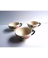 Vtg. Franciscan Desert Rose Coffee Tea Cups - $11.87