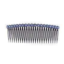 Hairpin Comb Bangs Chuck Top Jewelry Card Edge Rhinestone Hair Accessories