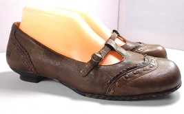 Born Womens Brown Leather Low Heel Shoes Size 8.5 M - $40.01