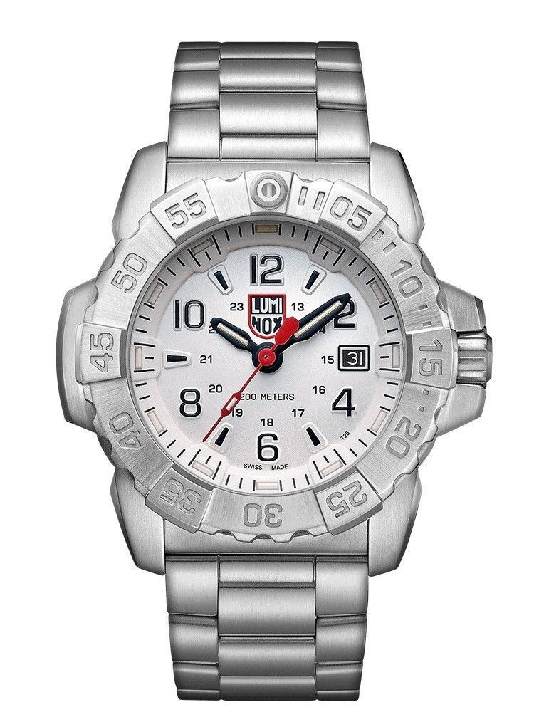 Luminox Men's Navy Seal Stainless Steel White Dial XS.3258 Watch