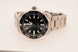 Tag Heuer Aquaracer Black Dial Stainless Steel Quartz Watch WAY111A - $940.50