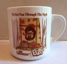 Vtg THE TRUCKIN' BOZO Coffee Cup Mug HEAT ACTIVATED To Get You Through T... - $37.39