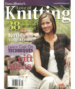 2 Fons and Porter Love of Knitting Fall 2008 38 Projects Summer 2009 30 ... - $6.93