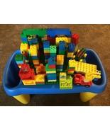 LEGO DUPLO Preschool Play Table Lap Desk Building Surface With Duplo Leg... - $74.24