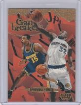 1997-98 Fleer - Game Breakers #3 Latrell Sprewell Joe Smith - $10.45