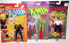 ✰ LOT 3 figure ✰ ToyBiz Figure Marvel Comics X-men X-Force Ahab Longshot Tom - $33.99