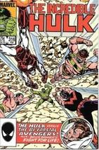 The Incredible Hulk Comic Book #316 Marvel 1986 Very FINE/NEAR Mint New Unread - $3.99