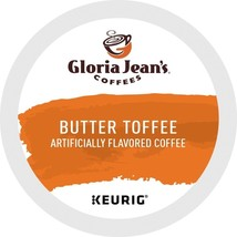 Gloria Jean's Butter Toffee Coffee, 72 count Keurig K cups, FREE SHIPPING  - $49.54