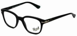 Persol Optical  PO3093V 9000 48MM Black Antique Eyeglasses Frame Made In... - $83.74