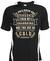 Children Are Rainbows T Shirt, My Grandkids Are The Pot Of Gold Shirt - $16.99+