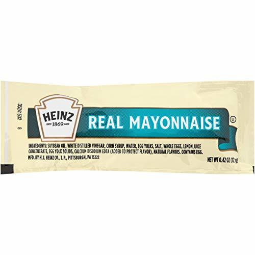 Heinz Mayonnaise Single Serve 0.4 oz Packets, Pack of 200
