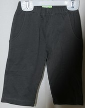 SnoPea Dark Gray Sweat Pants Elastic Waist Two Pockets Size 12 Months image 2