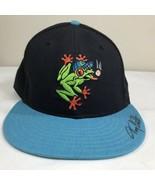 VTG Everett Aqua Sox Hat New Era Fitted Cap Minor League Baseball 90s Sz... - $29.99