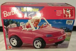1998 Barbie Sport Cruiser Mattel Vehicle Includes Adorable Puppy - $39.55