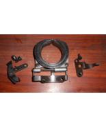 Bernina 817 Race Cover Assembly #0015387100 & Latch w/Mounting Screws - $20.00