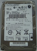 Fujitsu MHR2040AT 40GB 2.5 inch IDE Drive Free USA Ship Our Drives Work - $17.59