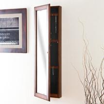 Southern Enterprises Wall-Mount Jewelry Mirror - Warm Brn Wal VM5065 Mir... - €180,24 EUR