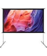 GPX PJS909 Indoor/Outdoor Projection Screen (90 Inch) - $207.71