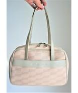 Balenciaga Vintage 90s Monogram Beige Handbag - $220.00