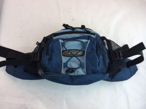HIGH SIERRA ADJUSTABLE FANNY PACK WAIST PACK BLUE/BLACK - $27.82