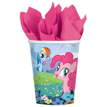 My Little Pony Friendship 9 oz Paper Cups 8 Ct Party Supplies - $4.35