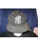 NEW YORK YANKEES BASEBALL WOOL HAT CAP ADULT NEW ERA SIZE 7 1/4 MLB NY 5... - $9.90