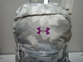 Under Armour Strom Girls Favorite Camo Purple BackPack Padded Laptop Sleeve  - $51.38