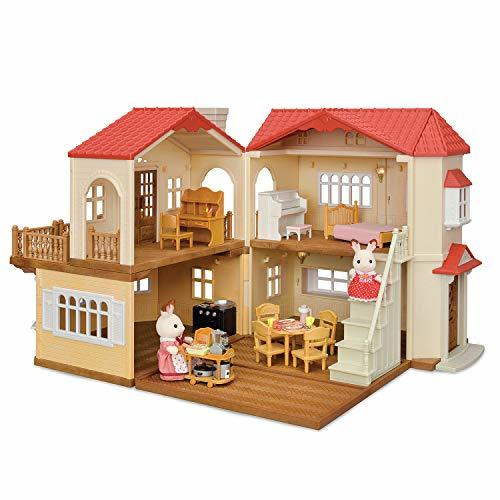 Calico Critters Red Roof Country Home Gift set - $139.99
