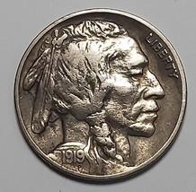 1919S Buffalo Nickel 5¢ Coin Lot # EA 298