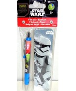 Star Wars Force Awakens STORMTROOPER Bookmark +Gel Pen BACK TO SCHOOL Su... - $56,49 MXN