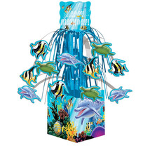 Ocean Party Mini Cascade Centerpiece with Base, Case of 6 - $31.76